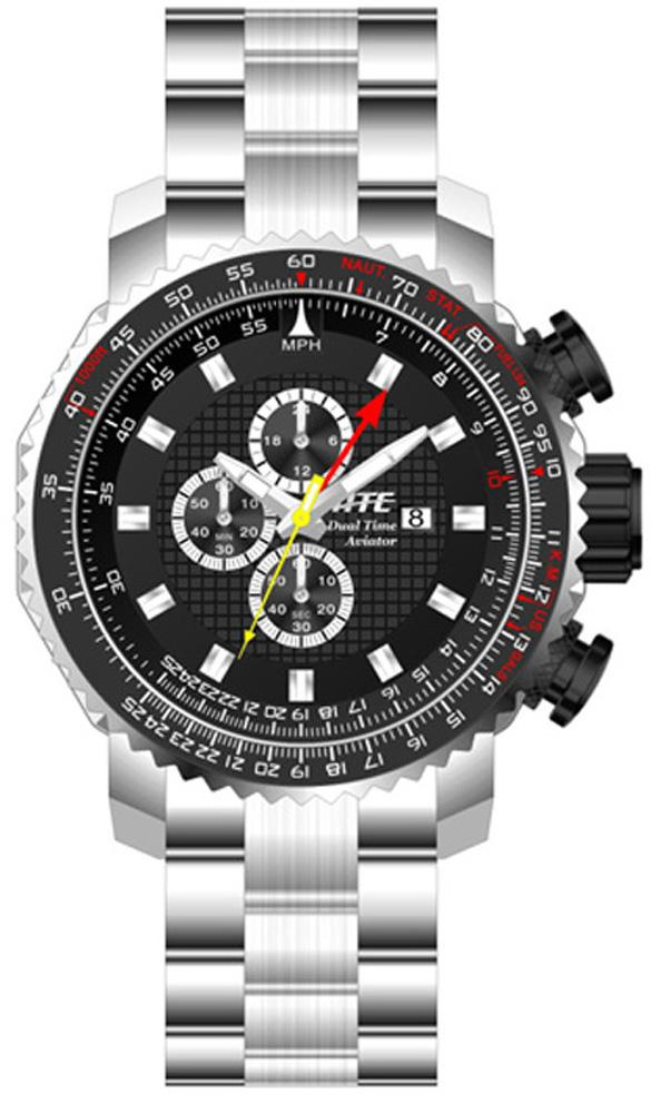 ATC Aviator Chrono/Dual-Time Watch by HME