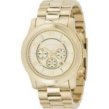 Goldtone Watch by Michael Kors